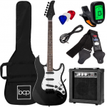 """$249.99 B11900 39"""" Electric Guitar Kit with Case, Strap, Amp"""